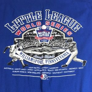 Little League World Series T-Shirt Sz Medium 2014
